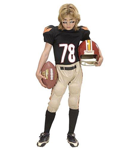American Football-Spieler Kostüm für Jungen 11 bis 13 Jahre