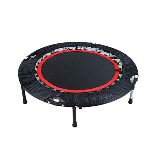 Keland Foldable Trampoline With Adjustable Handrail, Indoor And Outdoor Exercise Fitness Mini Trampoline for Adults or Kids(40inch/Max Load 300lbs) by Keland