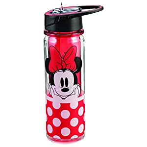 Disney Minnie Mouse 18 Oz. Tritan Water Bottle