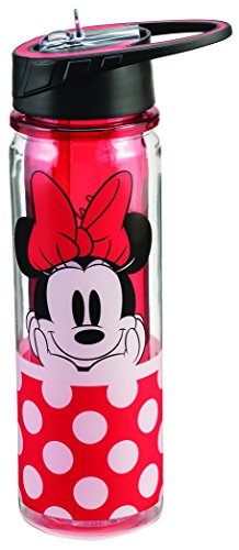 Disney Minnie Mouse 18 Oz. Tritan Water Bottle 89075 ()