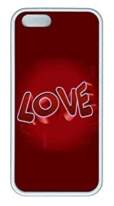 3D Love PC Silicone Hard Case For Sumsung Galaxy S4 I9500 Cover Case CovWhite
