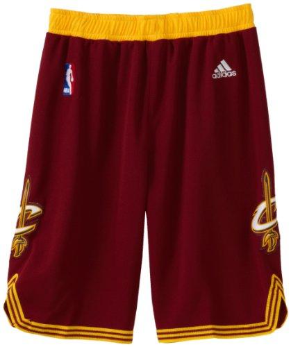 Cavaliers Swingman Shorts - NBA Youth Cleveland Cavaliers Swingman Road Short - R28Ewcca (Maroon, Medium)