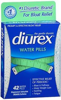 Diurex Water Pills Original Formula - 42 ct, Pack of 2