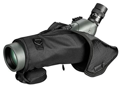 Vortex Optics Viper HD 80 mm Black Padded View-Through Spotting Scope Case (Angled/Straight | 77-82 mm scopes)
