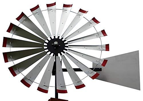 60-inch Windmill Head w/Plain Rudder, Build a 20-Foot Tall Windmill