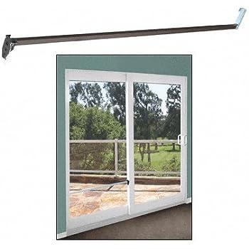 Strybuc 16108c 48 charley bar for sliding glass door 48 bar bronze security bar for sliding glass doors planetlyrics Gallery