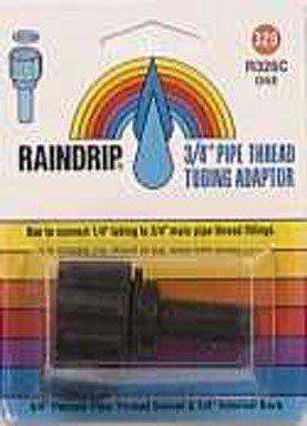 (Raindrip R326CT Pipe Thread Swivel with 0.25-Inch Compression Adaptor)