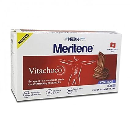 MERITENE Vitachoco 30 onzas de chocolate negro
