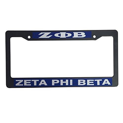zeta-phi-beta-black-plastic-license-plate-frame