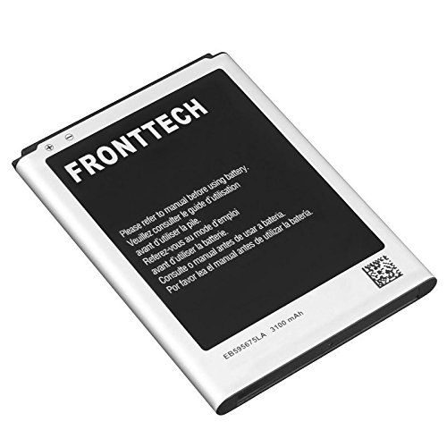 FrontTech 3100mAh OEM Battery for Samsung Galaxy Note 2 N7100 T889 I605 I317 (1 Battery!) (Galaxy Note Battery 2)