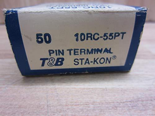 (Thomas & Betts SK 10RC55PT INS VINYL PIN TERMINAL (Pack of 50))