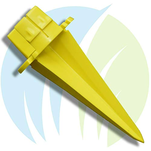 Chicory Apparel - Earth Shot Weed Control Applicator Tip ONLY Yellow