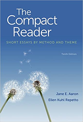 com the compact reader short essays by method and theme  the compact reader short essays by method and theme 10th edition