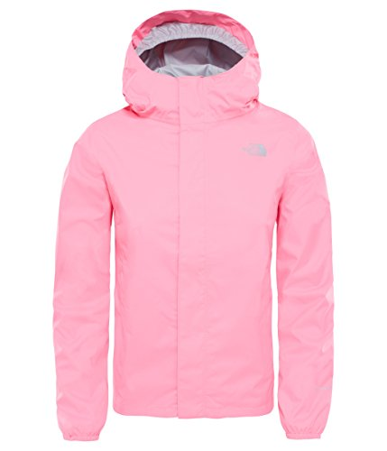 The North Face Kids Girl's Resolve Reflective Jacket (Little Kids/Big Kids) Gem Pink Medium (Face Jacket North The Kids)