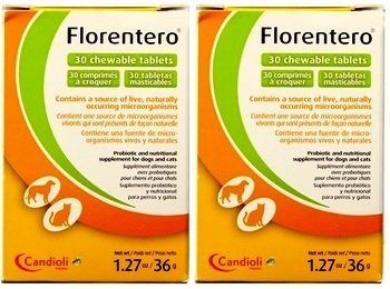 Florentero Symbiotic Chewable Tablets 30ct Two Pack