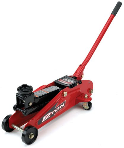 Alltrade Powerbuilt 640181 Garage 2-Ton Trolley (Car Trolley Jack)