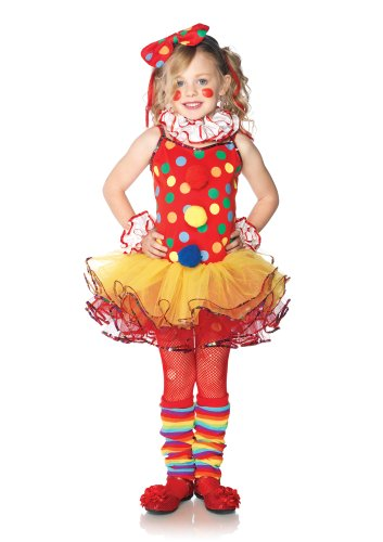 [Leg Avenue Children's Circus Clown Costume] (Childs Clown Costumes)