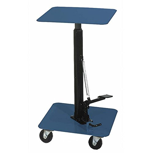 (Wesco Industrial Products 260059 Steel Standard-Duty Lift Table, 200 lb. Capacity, 16