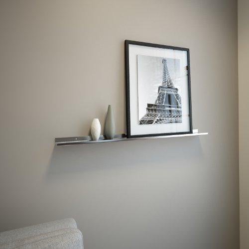 """Stainless Steel Floating Ledge for Photo and Picture 3,5"""" Ex"""