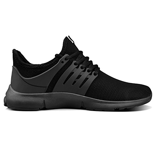 Feetmat Womens Sneaker Comfortable Sports Gym Tennis Shoes Walking Shoes for Women Size 10 Black