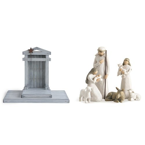 Willow Tree Creche & Willow Tree Nativity, 6-piece set of figures by Susan Lordi 26005