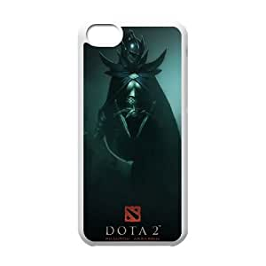 Dota 2 iPhone 5c Cell Phone Case White TPU Phone Case SY_746731