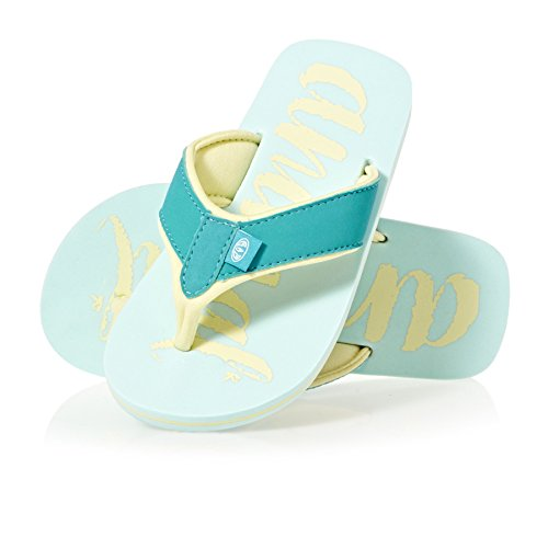 Animal Swish Logo Girls Sandals Misty Green zWh6YrTFX