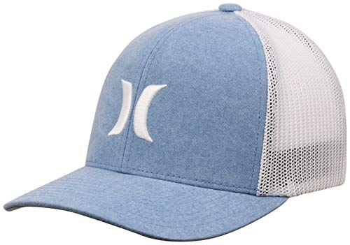Hurley Icon Textures Trucker Hat - Blue Fury - L/XL