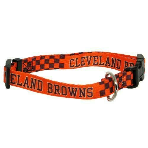 Hunter MFG Cleveland Browns Dog Collar, Extra Small