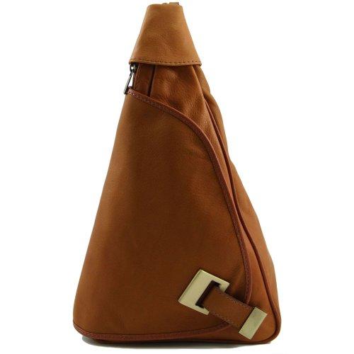 De Cerdo Tuscany Marrón Bolso Piel Hombro Mujer Para Leather Al wUqgI