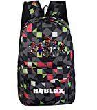 Best Minecraft Bookbags For Boys - MaeFte Roblox backpack Bookbag School Bags (A) Review