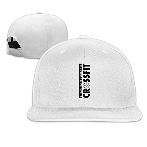YUYU Life is Better When You Crossfit Gorra de béisbol: Amazon.es ...