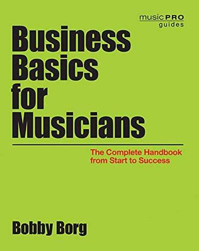 Business Basics Musicians Complete Handbook product image