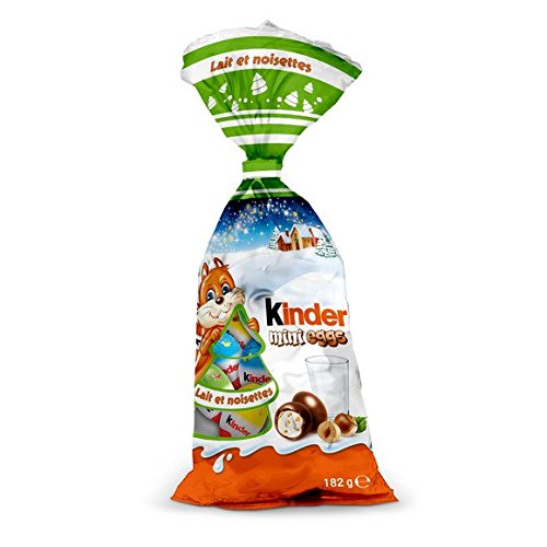 Kinder Christmas Mini Eggs 182g Hazelnut