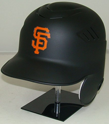 San Francisco Giants Matte Black MLB New Coolflo Style Official Authentic Batting Helmet (for Right Handed Batter) ()