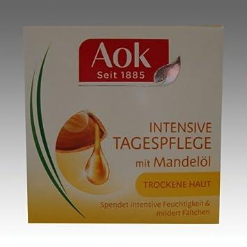 AOK Pur Nutrition / Con Aceite de Almendras / Cuidado Intensivo de Día / Para Piel Seca / Cuidado Facial / 2 unidades: Amazon.es: Salud y cuidado personal