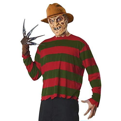 Freddy Krueger Costume Adult Scary Halloween Fancy Dress- Sold by Online Discounts Gifts! ()