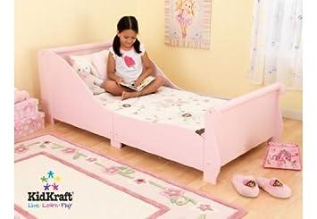 Kidkraft Kueche Dekoration : Kidraft kleinkinderbett pferdeschlitten in pink aus holz: kidkraft