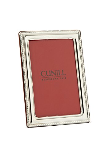 Cunill ''Elegance'' Sterling Silver Picture Frame, 5 by 7'' by Cunill