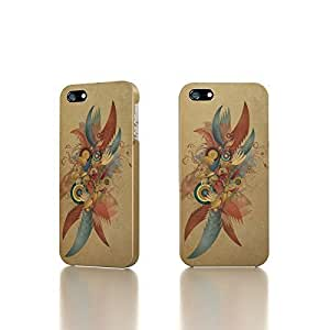 Apple iPhone 4 / 4S Case - The Best 3D Full Wrap iPhone Case - Vintage Abstract Design