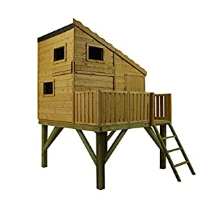 Shire Tower Command Post Playhouse Brown