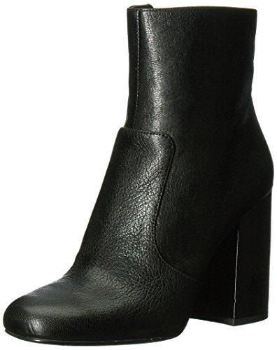 Nine West Women's Jilene Ankle Boot, Black Leather, 8.5 Medium - Nine West Boots