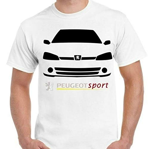 Classic Peugeot 106 Sport.car Men's T Shirt White