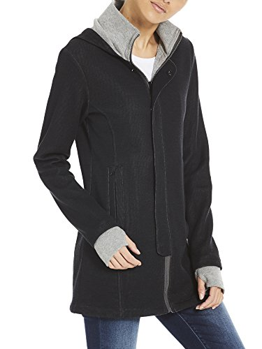 Bk11179 Noir Quilted Femme Bench Long Beauty black Jacket Manteau AqFZgBS