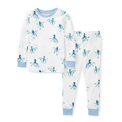 Burts Bees Baby Baby Boys Pajamas 100/% Organic Cotton Tee and Pant 2-Piece Pj Set