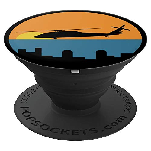 UH-60 Blackhawk Helicopter Vintage Sunset Cityscape for sale  Delivered anywhere in USA