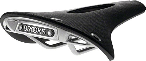 Brooks England Men's Cambium C17 Carved Saddle, Black