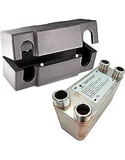 """Intercambiador de calor de acero inoxidable Nordic Tec Ba-12-30, 65 kW, 30 placas, 3/4"""""""