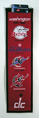 NBA Washington Wizards Heritage Banner