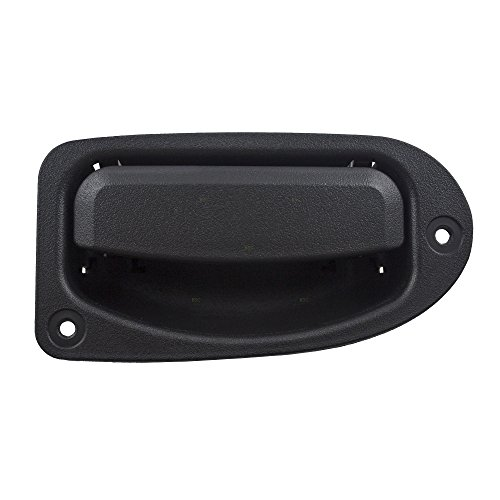 Passengers Rear Outside Exterior Rear 3rd Third Textured Door Handle Replacement for Ford Ranger Extended Cab Pickup FO1553100